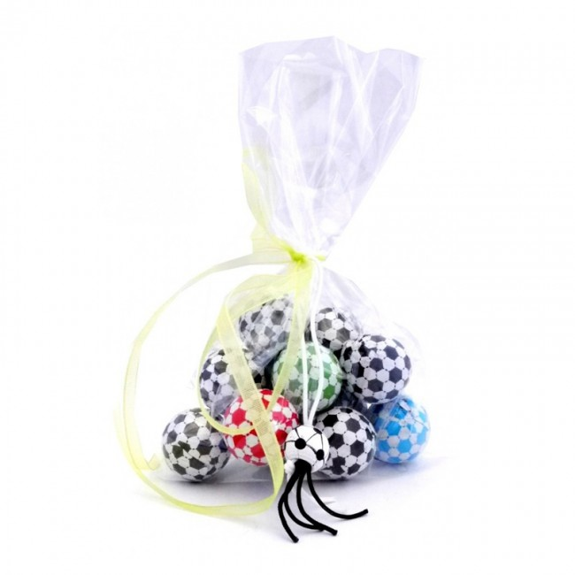 e48bb8daf Balones de Chocolate en bolsita regalo