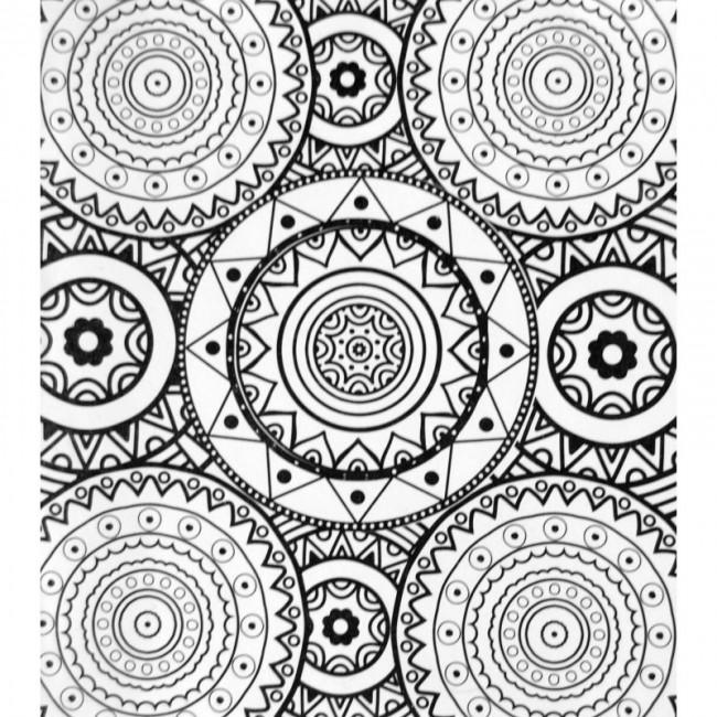 Set Mandala Para Colorear